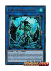 Knightmare Goblin - FLOD-EN044 - Ultra Rare - 1st Edition