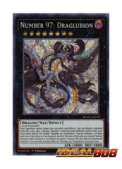 Number 97: Draglubion - BLHR-EN030 - Secret Rare - 1st Edition