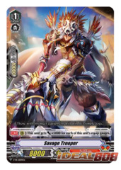 Savage Trooper - V-PR/0099EN - PR (FOIL) [V-BT07]