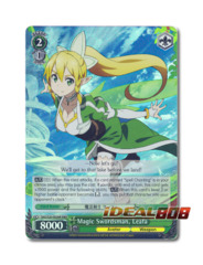 Magic Swordsman, Leafa [SAO/S20-E026R RRR (Foil)] English