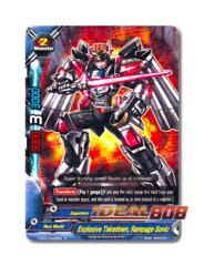 Explosive Takedown, Rampage Sonic [H-BT01/0035EN R] English Rare