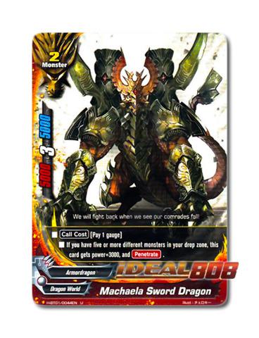 Machaela Sword Dragon [H-BT01/0044EN U] English Uncommon