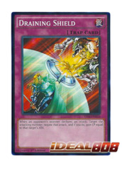 Draining Shield - YS16-EN036 - Common - 1st Edition