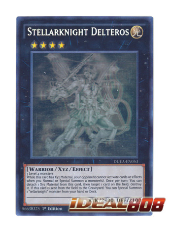 Stellarknight Delteros - DUEA-EN053 - Ghost Rare - 1st Edition