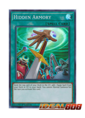 Hidden Armory - INCH-EN042 - Super Rare - 1st Edition