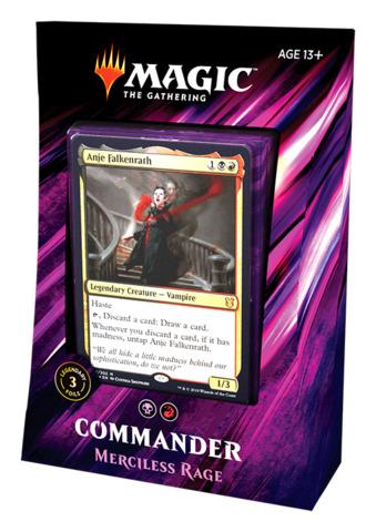 Commander 2019: Merciless Rage Deck