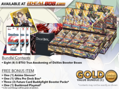 BFE-S-BT03  Bundle (C) Gold - Get x6 True Awakening of Deities Booster Box + FREE Bonus Items