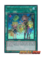 Witchcrafter Creation - DUOV-EN096 - Ultra Rare - 1st Edition