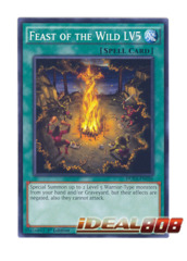Feast of the Wild LV5 - DUEA-EN056 - Common - 1st Edition