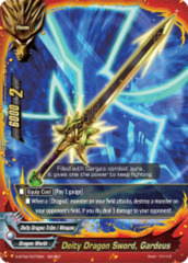 Deity Dragon Sword, Gardeus [S-BT02/0075EN Secret (FOIL)] English