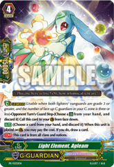 Light Element, Agleam - PR/0255EN - PR (Fanbook Promo)