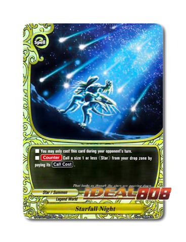 Starfall Night [H-BT01/0014EN RR] English Double Rare