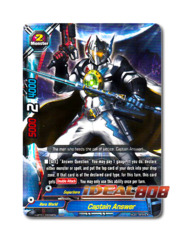 Captain Answer [H-BT01/0008EN RRR] English Triple Rare