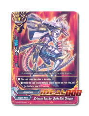 Crimson Battler, Spike Nail Dragon [H-BT04/0049EN U (FOIL)] English