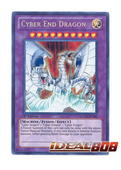 Cyber End Dragon - LCGX-EN181 - Secret Rare - 1st Edition