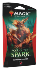 War of the Spark (WAR) Themed Booster Pack - Red [35 cards]