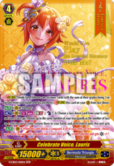 Celebrate Voice, Lauris - G-CB03/S01EN - WSP (Hot Stamp/Wedding Dress)