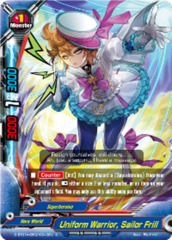 Uniform Warrior, Sailor Frill [D-BT01A-EB02/0042EN C (FOIL)] English