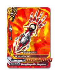 Blazing Dragon Fist, Dragoburst [H-BT01/0078EN C] English Common