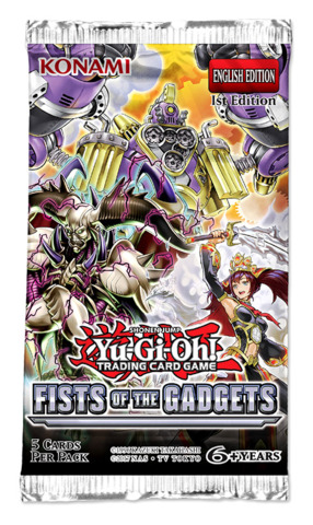 Fists of the Gadgets (1st Edition) Yugioh Booster Box [24 Packs] * PRE-ORDER Ships Aug.23