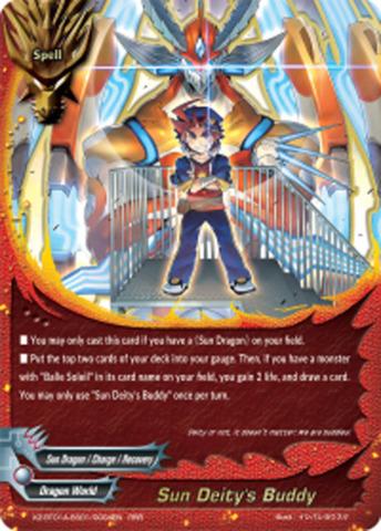 Sun Deity's Buddy [X2-BT01A-SS01/0004EN RRR (FOIL)] English