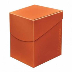 Ultra Pro Eclipse 100+ Deck Box - Pumpkin Orange (#85689)