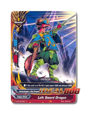Left Sword Dragon - BT04/0078EN (C) Common