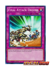 Final Attack Orders - SDKS-EN036 - Common - 1st Edition