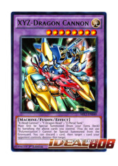 XYZ-Dragon Cannon - MIL1-EN040 - Rare - 1st Edition
