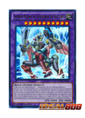 Imperion Magnum the Superconductive Battlebot - SDMY-EN041 - Ultra Rare - 1st Edition