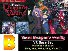 # Team Dragon's Vanity [V-EB12 ID (B)] VR Base Set [4 of each VR's, RRR's, RR's, R's, & C's (264 cards)]