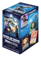 Sword Art Online -Alicization- (English) Weiss Schwarz Booster Box [20 Packs] * PRE-ORDER Ships Feb.28