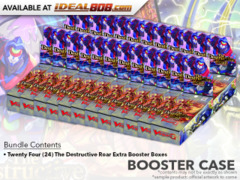 CFV-V-EB01 The Destructive Roar (English) Cardfight Vanguard V-Extra Booster  Case [24 Boxes]