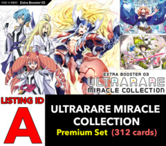 # ULTRARARE MIRACLE COLLECTION [V-EB03 ID (A)] Premium Set [Includes 4 of each OR's, SCR's, SVR's, and Base Set Cards (312 c)]