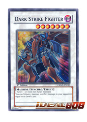 Dark Strike Fighter - CRMS-EN040 - Super Rare - 1st Edition