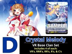 # Crystal Melody [V-EB11 ID (D)] VR Bermuda Triangle Base Set [4 of each VR's, RRR's, RR's, R's, & C's (188 Cards)]