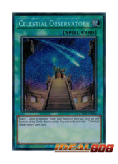 Celestial Observatory - CYHO-EN064 - Secret Rare - Unlimited Edition