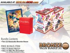 Weiss Schwarz KS Bundle (A) Bronze - Get x2 Konosuba Booster Boxes + FREE Bonus