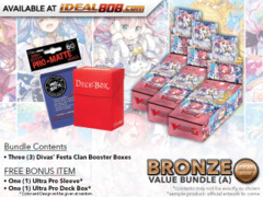 Cardfight Vanguard G-CB07 Bundle (A) Bronze - Get x3 Divas' Festa Booster Box + FREE Bonus Items * PRE-ORDER Ships Apr.27