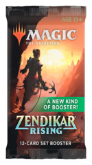 Zendikar Rising Set Booster Pack [12 Cards]