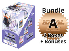 Weiss Schwarz RZ/S68 Bundle (A) Bronze - Get x2 Re:ZERO - Memory Snow Booster Boxes + FREE Bonus * PRE-ORDER Ships Aug.28