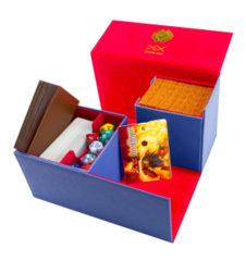 Dex Protection Large Deck Box [Dark Blue]