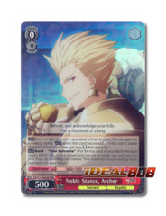 Noble Stance, Archer [FZ/S17-E058R RRR (FOIL)] English