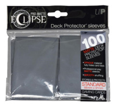 Ultra Pro Matte Eclipse Standard Sleeves 100ct - Smoke Grey [#85611]