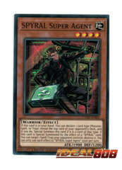 SPYRAL Super Agent - CYHO-ENSE1 - Super Rare - Limited Edition