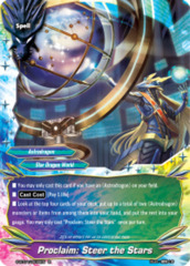 Proclaim: Steer the Stars [S-BT04/0030EN R (FOIL)] English