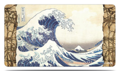 Ultra Pro Fine Art Playmat - The Great Wave Off Kanagawa by Katsushika Hokusai (#15164)