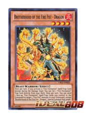 Brotherhood of the Fire Fist - Dragon - CBLZ-EN025 - Super Rare - Unlimited Edition