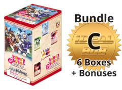 Weiss Schwarz KS/W76 Bundle (C) Gold - Get x6 Konosuba - Legend of Crimson Booster Boxes + FREE Bonus * PRE-ORDER Ships Oct.23