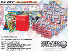 Cardfight Vanguard G-CB07 Bundle (B) Silver - Get x6 Divas' Festa Booster Box + FREE Bonus Items * PRE-ORDER Ships Apr.27